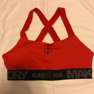 03bd71d39a flag nor fail Intimates   Sleepwear - Flag Nor Fail Pro Form Sports Bra RED